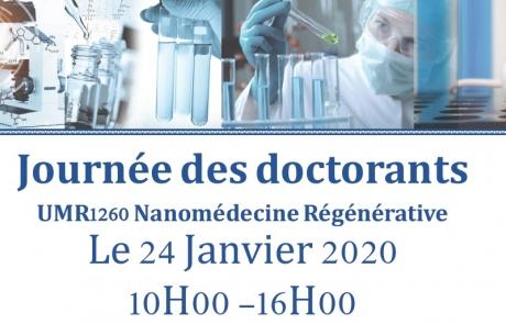 La Journée des doctorants de l'UMR1260, organisée par et pour les doctorants