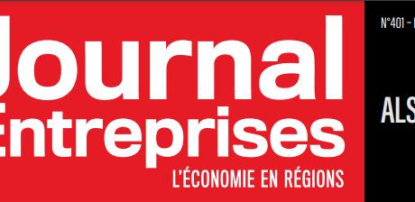 Le journal Des Entreprises «L'économie en régions»